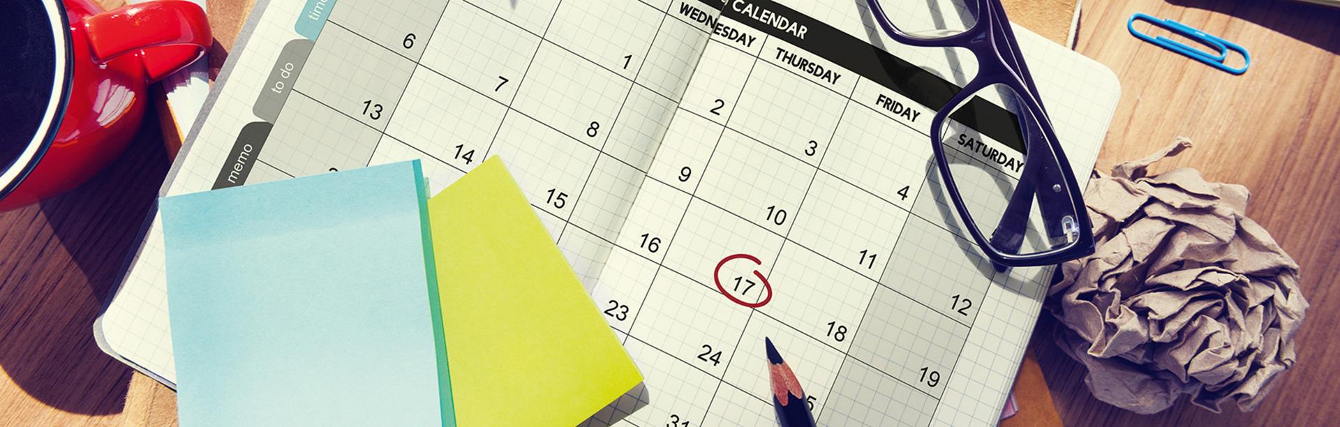 banner kalender