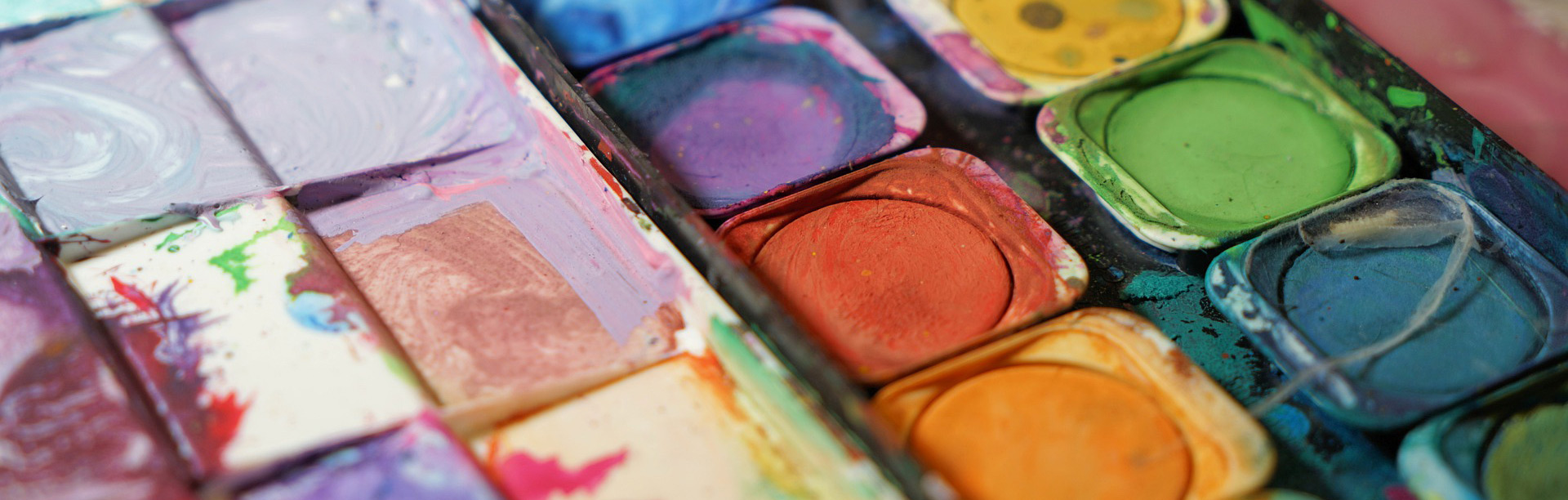 banner schulen wasserfarben