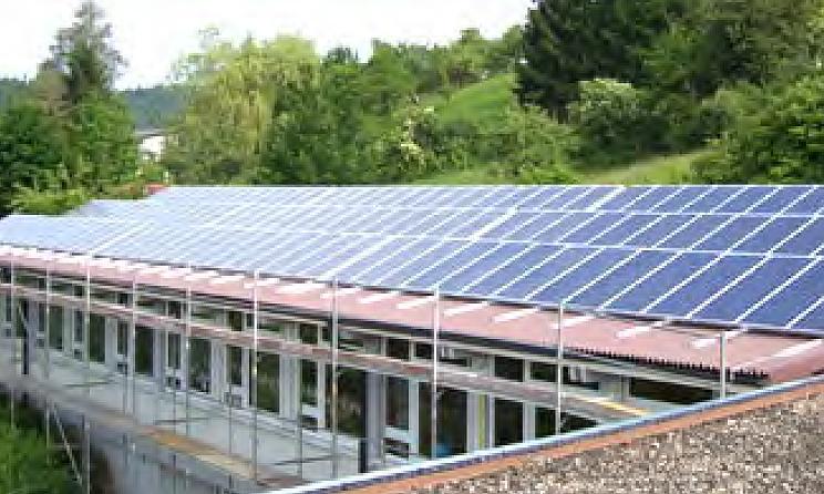 2005 Erste PV Anlage