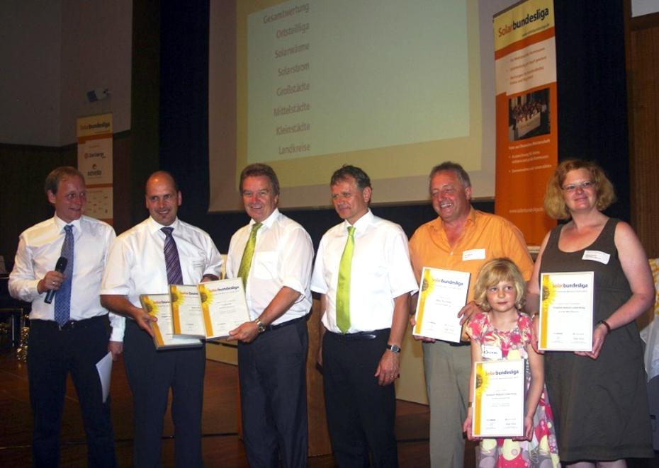 2009 Preisverleihung Solarbundesliga