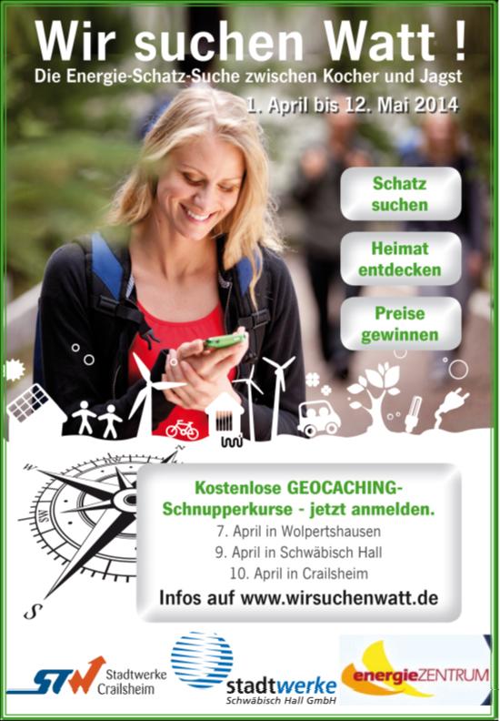 2014 Energie Schatz Suche